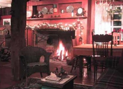 Glowing fireplace to greet you, music, Finger Lakes wine, flowers, spa scents, Massage Therapist, breakfast photo...