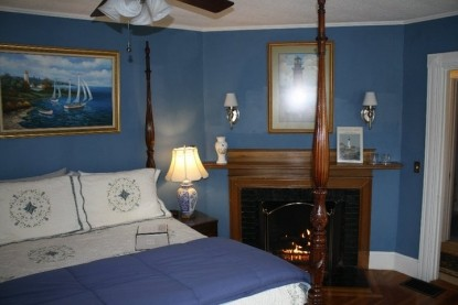 Saltair Inn Waterfront Bed and Breakfast -Chart Bedroom