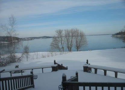 Saltair Inn Waterfront Bed and Breakfast -Snow