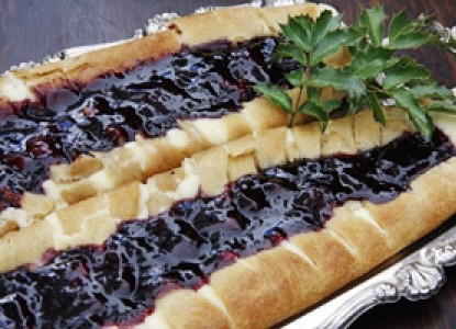 Madeline breakfast tart