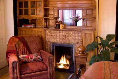 The Madeleine Bed & Breakfast, fireplace