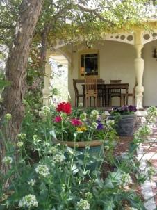 The Madeleine Bed & Breakfast, porch