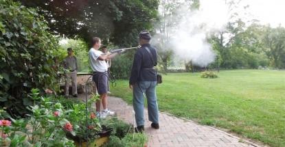 Battlefield Bed & Breakfast Inn  shooting
