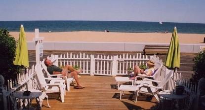 An Inn on the Ocean Bed & Breakfast, patio