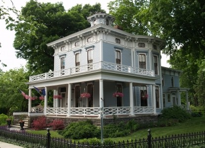 DeLano Mansion Inn Bed & Breakfast, front view