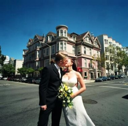 The Queen Anne Hotel, married couple