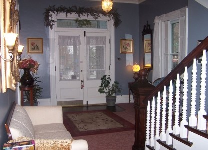 Victorian House Bed & Breakfast staircase