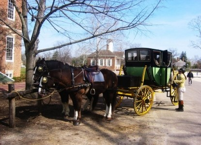 Colonial Capital Bed & Breakfast, horse carriage
