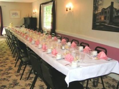 The Buckhorn Inn table