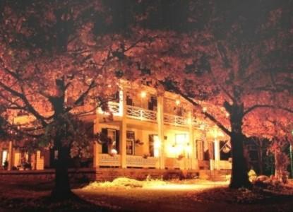 The Buckhorn Inn night time