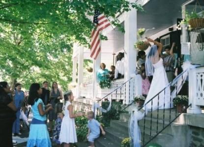 The Buckhorn Inn wedding