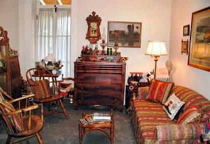 El Presidio Bed & Breakfast Inn, living room