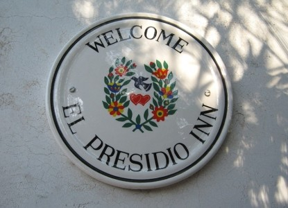 El Presidio Bed and Breakfast Inn, marquee