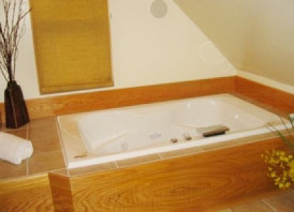 Habberstad House Bed and Breakfast-Carriage House Bathtub