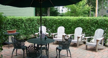 Habberstad House Bed and Breakfast-Patio