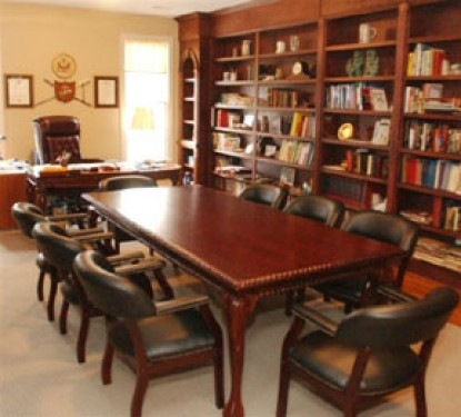 The Garden House Bed & Breakfast-Conference Table