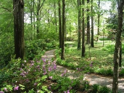 The Garden House Bed & Breakfast-Walk Path Scenery