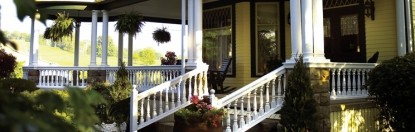 Hasseman House B&B-Front porch