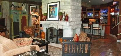 Thistletop Inn Fire Place