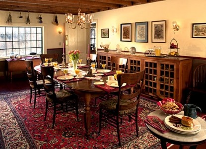 Beaver Pond Farm Bed & Breakfast dining room