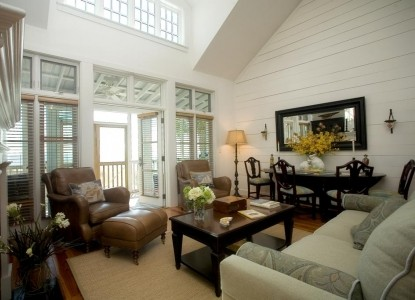 The Cottages on Charleston Harbor, living room