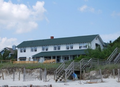 Sea View Inn- stair view