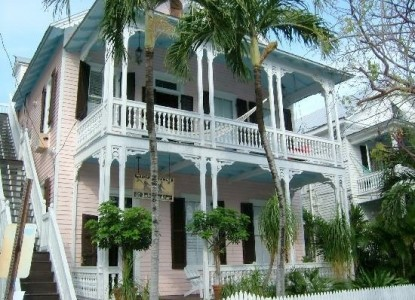 Historic Victorian located on a quiet, tree-shaded street in the heart of Key West's 'Old Town!'