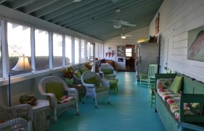 Sea View Inn-patio view