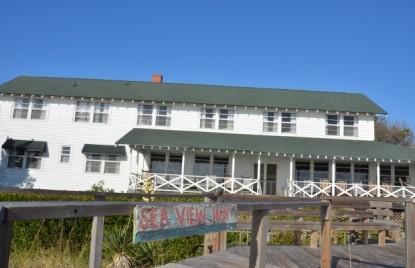 Sea View Inn- view from the beach