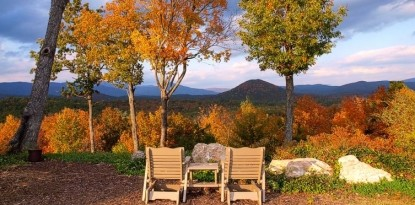 Lucille's Mountain Top Inn & Spa outdoor seating