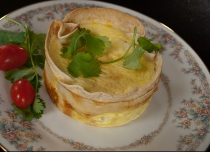 Shenandoah Manor Bed & Breakfast, breakfast