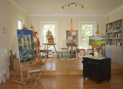 Shenandoah Manor Bed & Breakfast, art gallery