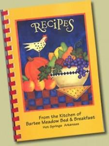 Bartee Meadow Bed & Breakfast, Cookbook