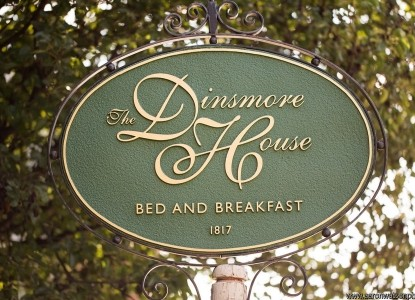 The Dinsmore House Inn is located in the heart of Charlottesville. The B&B has a perfect location for your visit to the area.