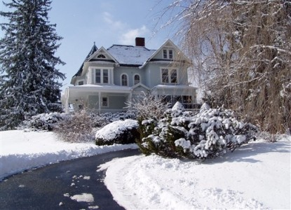 River Hill Bed & Breakfast, Winter View