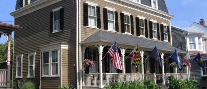 Flag House Inn Bed & Breakfast front of inn