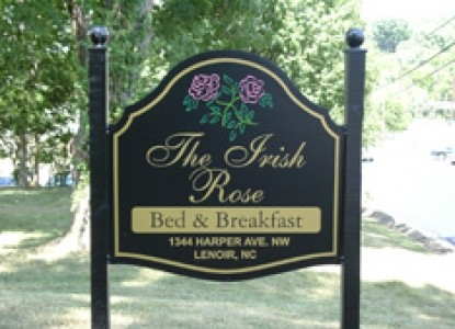 The Irish Rose Bed and Breakfast-Front Sign