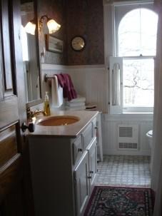 Empire Room & Eastlake Room Shared  Bath