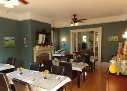 Primrose Inn-Historic Bar Harbor Bed and Breakfast, dining area