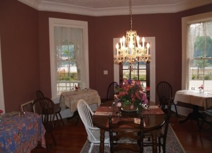 The Camellia Rose Inn-Dining Table