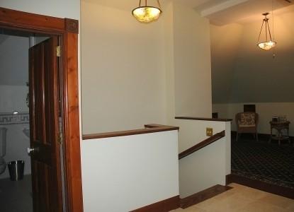 Nauvoo Grand - A Bed & Breakfast Inn-Grandma Eleanor's Attic Stairway