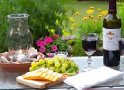 Red Forest Bed and Breakfast-Wine and Snacks