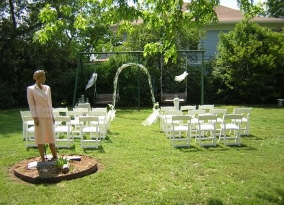 Morehead Manor Bed and Breakfast, wedding