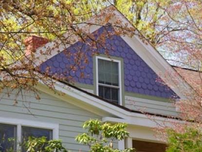 Purple Gables Bed & Breakfast roof