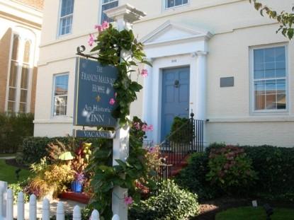 The Francis Malbone House - An Historic Inn front