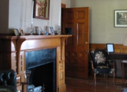 The Elms Bed & Breakfast Fireplace