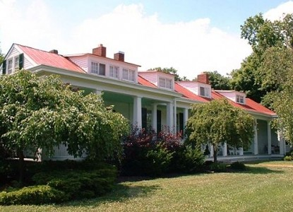 The Hermitage Bed & Breakfast, front view