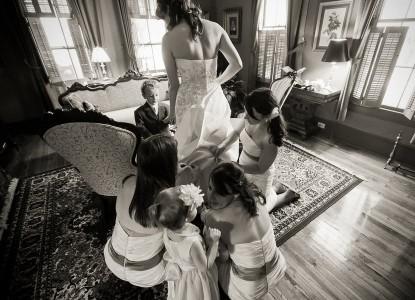 The Brady Inn wedding dress