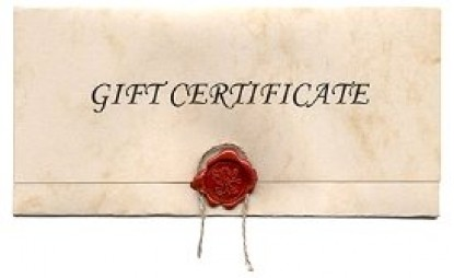 Sweet Biscuit Inn, gift certificate