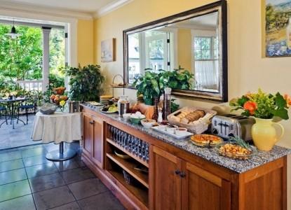 Inn at Sonoma, A Four Sisters Inn, kitchen